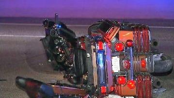 WEB EXTRA: 2 Killed in Motorcycle Crash On BA Expressway