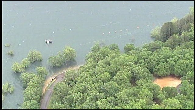 WEB EXTRA: View Of Lake Tenkiller From SkyNews6