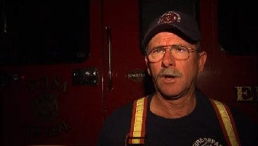 WEB EXTRA: Tulsa Fire District Chief Dale Cooley Talks About 34th Street House Fire