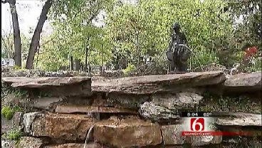 Investigation Continues Into Woodward Park Statue Theft