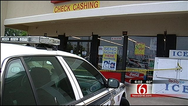 Clerk Opens Fire On Armed Robber In East Tulsa Store