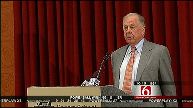 T. Boone Pickens And Robert F. Kennedy Jr. Speak In Tulsa