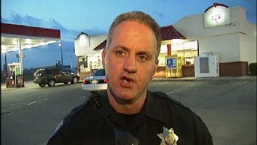 WEB EXTRA: Tulsa Police Cpl. Jeff Little Talks About Fiesta Mart Robbery