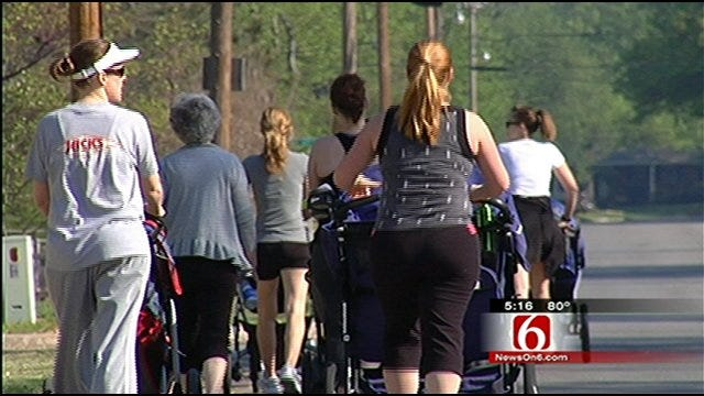 Tulsa Moms Go 'Strollin' For A Workout