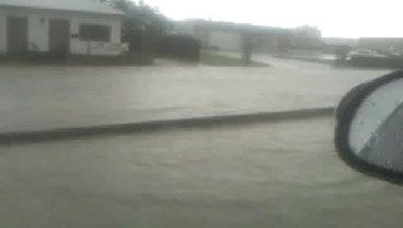WEB EXTRA: Video Of Flooding Near Downtown Claremore