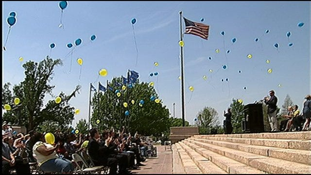 Oklahoma Crime Victims Rally For Rights At State Capitol