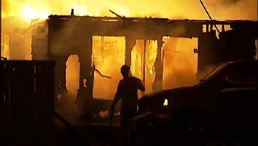 WEB EXTRA: Video From Scene Of Oakhurst House Fire Early Wednesday