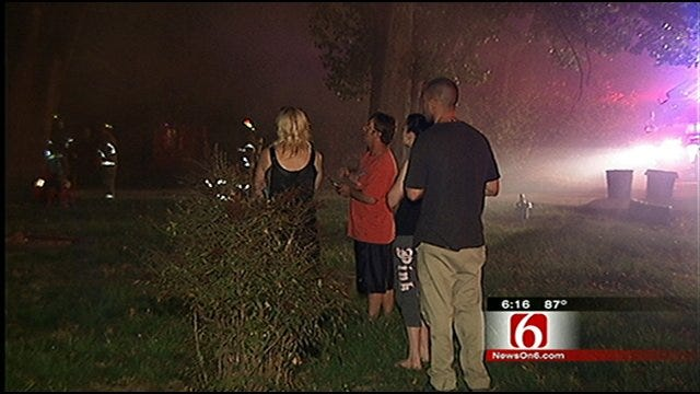 Four Kids Escape Tulsa House Fire After Cat Knocks Over Candle