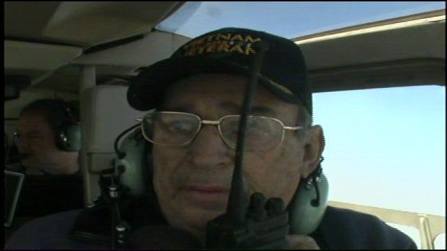 WEB EXTRA: Keystone Fire Chief George Blackburn Flies In SkyNews6