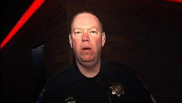 WEB EXTRA: Tulsa Police Sgt. Eric Nelson Talks About QuikTrip Robbery