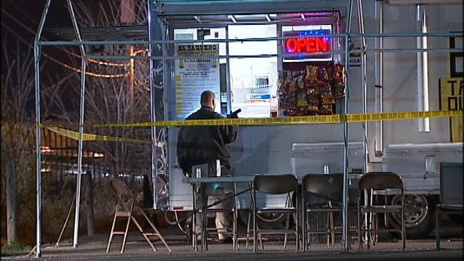 WEB EXTRA: Video From Scene Of 31st And Mingo Robbery-Shooting