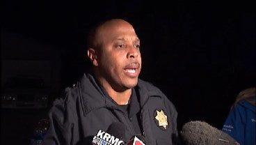 WEB EXTRA: Tulsa Police Officer Leland Ashley Talking About Hostage Standoff