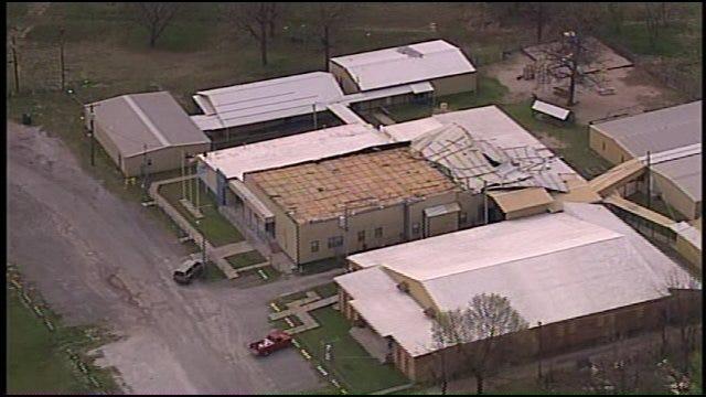 WEB EXTRA: SkyNews6 Flys Over Spavinaw School