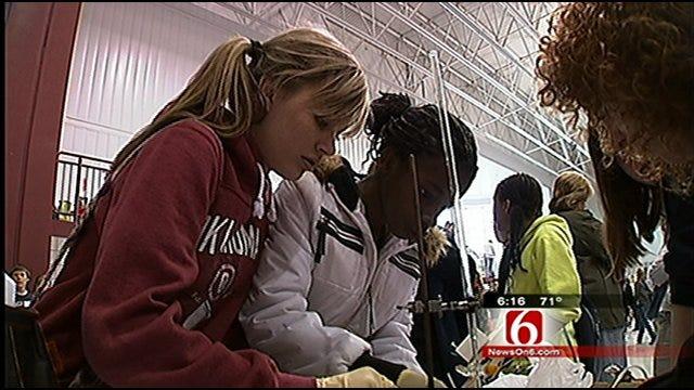Students Take On Tulsa Engineering Challenge