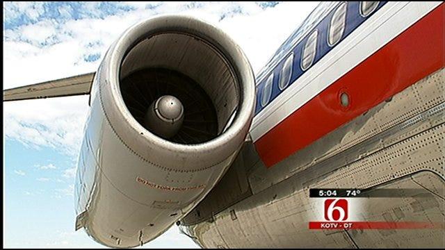 American Airlines Jet Makes Final Flight, Meets Challenge Of Landing At Jones Riverside