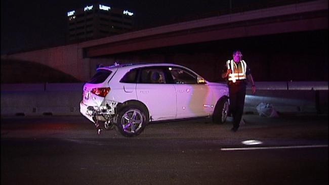 WEB EXTRA: Video From Scene Of I-44 Crash Late Thursday Night