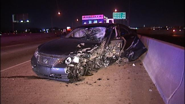 Wrong Way Driver Arrested After Nearly Hitting Tulsa Police Officer