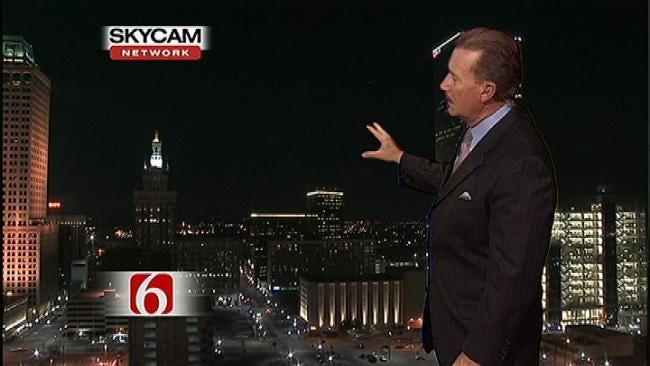 News On 6 Captures Bright Light Shooting Across Oklahoma Sky