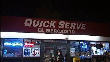WEB EXTRA: Video From Scene Of Quick Serve Store Burglary