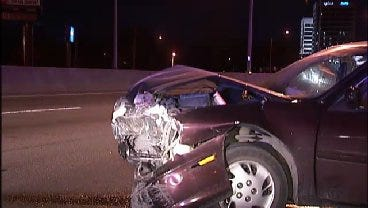 WEB EXTRA: Video From Scene Of Broken Arrow Expressway Crash