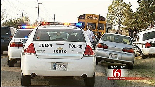 Report Of Gun On Tulsa Public School Bus Prompts Search