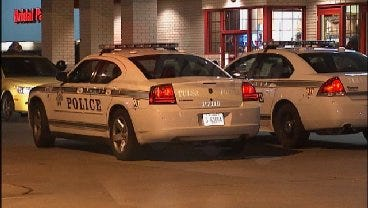 WEB EXTRA: Video From Scene Of Pizza Hut Robbery