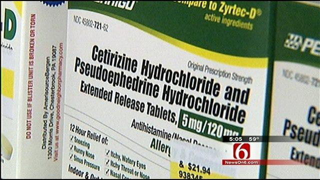 Police, Prosecutors Fear Pseudoephedrine Bill Won't Pass