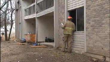 WEB EXTRA: Firefighters On Scene Of Willow Creek Apartment Fire