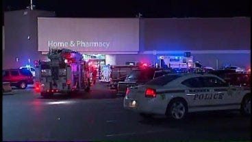 WEB EXTRA: Video From The Scene Of The Tulsa Walmart Shooting