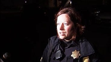 WEB EXTRA: Tulsa Police Sgt Shelly Wood Talks About Domestic Shooting