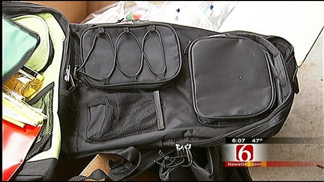Charity Donates Backpacks Full Of Supplies, Food To Muskogee Students