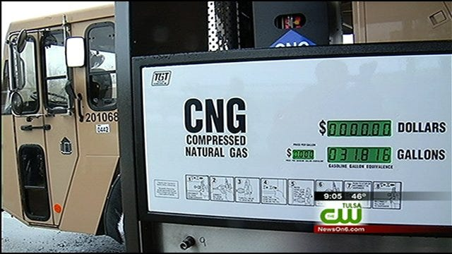 City Of Tulsa Using More Natural Gas Vehicles