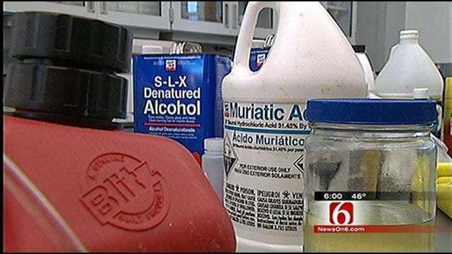 Tulsa Police: City Becoming Known As Nation's Meth Capitol