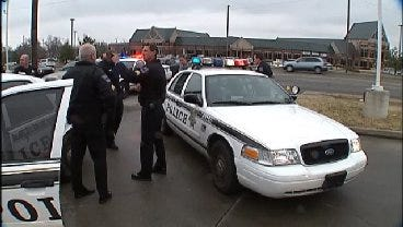 WEB EXTRA: Tulsa Police Nab Suspected Bartlesville Bank Robber