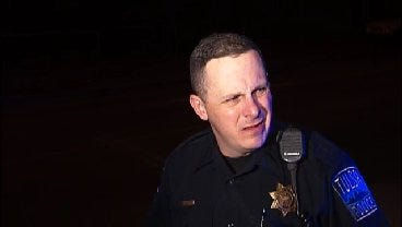 WEB EXTRA: Tulsa Police Officer Todd Taylor Talks About Pursuit Arrest