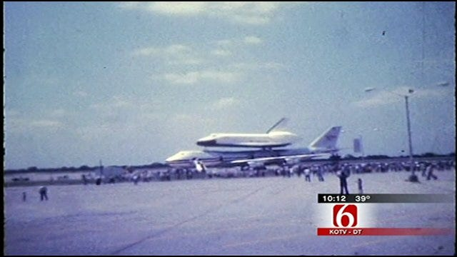 Shuttle Launch Focuses Attention On Tulsa's Contributions To The Program