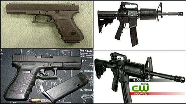 Tulsa County Sheriff's Office Offering Reward For Stolen Guns