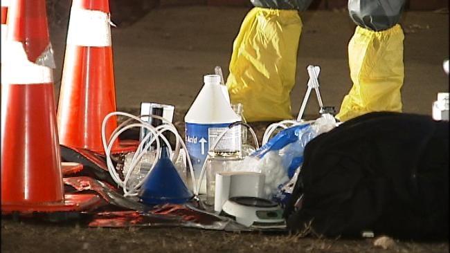 Tulsa Police Find Meth Lab In Apartment Complex Laundry Room