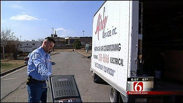 Airco, News On 6 Help Warm Tulsa Mother's Home