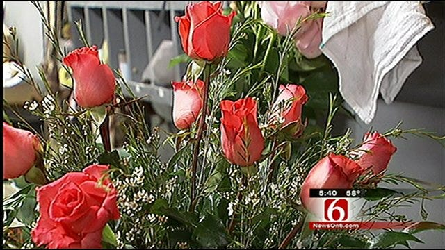 Green Country Florists Prepare For Busy Valentines Day