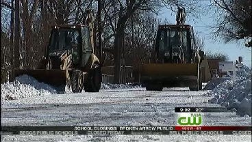 Routes Near Tulsa Schools Expected To Be Cleared By Friday Morning