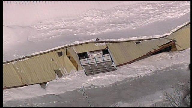 SkyNews 6: Collapsed Building In Mid-America Industrial Park