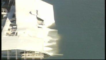 SkyNews 6: Boat Dock Damage At Grand Lake