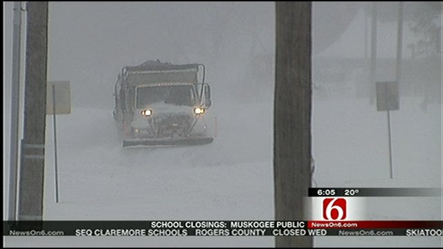 Tulsa City Council Criticizes City's Response To Blizzard