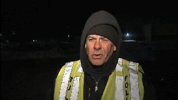 WEB EXTRA: Tulsa Police Sgt. Rex Mann Talks About Fatal Crash