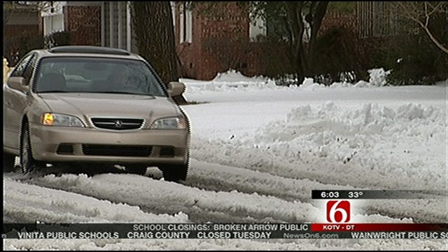 City Of Tulsa Plows Target More Neighborhood Streets