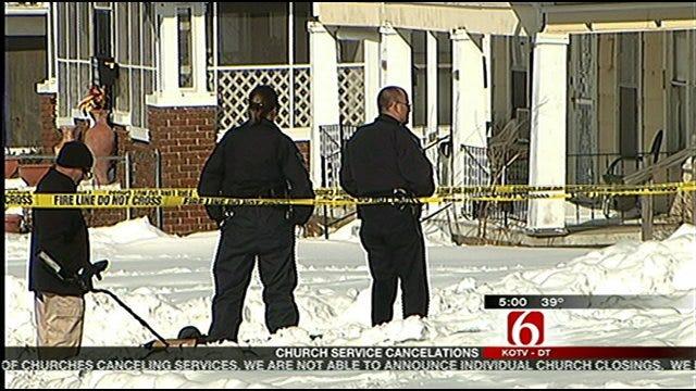 North Tulsa Man Shot, Killed Shoveling Snow