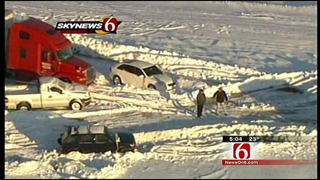 Pryor Couple's Stranded Car Located After News On 6 Story