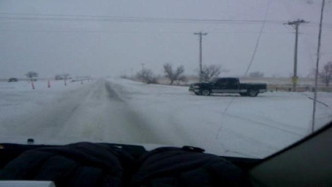 WEB EXTRA: Video Of Travel On U.S. Highway 75 In Northern Okmulgee County