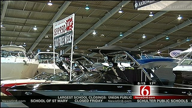 Escape Winter Weather Woes At Tulsa Boat Show